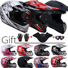 Adult Youth MX BMX Helmet Motorcycle ATV Dirt Bike Off Road Motocross DOT S-XXL