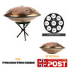 More images of Gold Professional 9 Notes Handpan Tongue Steel Hand Drum Carbon Steel