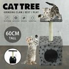 Pet Cat Scratching Post Tree Scratch Tower Activity Kitten Toy Centre With Toy