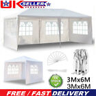 3x3M 3x6M Gazebo Waterproof Marquee Canopy Outdoor Garden Party Tent
