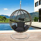 Arcadia Furniture Rocking Egg Chair Outdoor Wicker Rattan Patio Garden Circular
