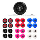 4Pcs Double Row Roller Skates Wheel Indoor/Outdoor PU 82A Longboard Wheels