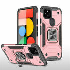 For Google Pixel 5 4a 5G Shockproof Magnetic Ring Holder Stand Armor Case Cover