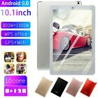 """2021 10.1"""" inch Android 9.0 Pad Tablet HD 8 128GB Dual SIM Camera WiFi Phablet"""