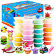 ESAND Air Dry Clay, 36 Colors Modeling Clay Best Gift for Kids, Ultra Light Clay