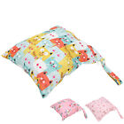 Wet Dry Baby Bag Diaper Nappy Travel Wipes Holder Cloth Diaper Storage Bag Gift
