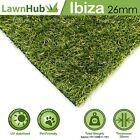 Wembley 25mm Artificial Grass   High Quality Realistic Fake Lawn Astro Turf