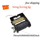 Archery Bowstring Serving Thread Protective  with String Server Jig Tool Set