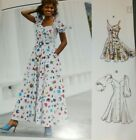 Mccalls 8177 10908 Flared Button Front Princess Seam Dress 6-14 or 16-24 UNCUT