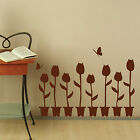 Plant Flower Wall Stickers Vinyl Art Decals