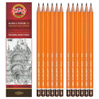12 PENCILS IN BOX KOH-I-NOOR 1500, 20 DEGREES AVAILABLE