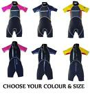 JUNIOR KIDS CHILDS INDIGO SHORTY WETSUIT AGE 7 - TEENS