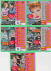 I Love Lucy CT  $2.00 lottery losing scratch ticket Connecticut.Limited # left