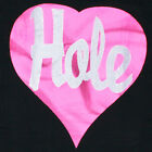 HOLE T-SHIRT GRUNGE ROCK COBAIN LOVE LIVE THROUGH THIS