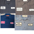 12 CUSTOM UNIFORM WORK SHIRT PERSONALIZED Company Name