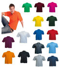Mens Polo Shirt Top Size 4XL 220gsm XXXXL Pique T Shirt