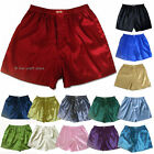 New Thai Silk Boxer Shorts 1,3 or 5 Pairs M L XL 2XL Men's Underwear Boxers Lot