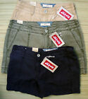 LEVI'S 515 MISSES MID RISE COTTON SHORT SHORTS LIST $38