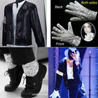 CHILD MICHAEL JACKSON MJ Billie Jean Jacket+Glove+Socks