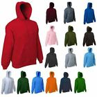 Mens Plain Classic Hooded Sweatshirt Size XS to 4XL SPORTS & CASUAL HOODIE 502