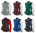 New Mens Varsity Baseball Letterman College Cotton Jacket Collection.(Sz) XS~XL