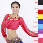 belly dance costume top bra lantern blouse 9Colors IN
