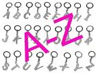 Sparkle Diamante Bling Initial Letter Keying/Keychain A--Z UK Seller Free P&P