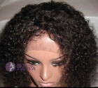 "8"" ~ 20"" Afro Curl Full Lace Wig 100% Indian Remy Human Hair curls top selling!!"