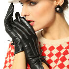 2011 NEW WARMEN Women's Real GENUINE LAMBSKIN Winter Warm leather gloves 4 Color