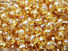 Freeshipping 100Pcs Top Quality Czech Crystal Faceted Rondelle Beads 3x 4mm PickGlass, Czech Glass - 164375