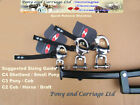 Horse Harness Trace to Carriage Quick Release Snap Shackles 3 Sizes C2 C3 C4