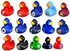OFFICIAL FOOTBALL CLUB - RUBBER DUCK BATH TIME TOY BOXED - NEW GIFT XMAS PRESENT