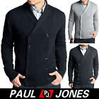 PJ Men's Stylish Fashion Cotton Knit sweater 4 Size  Double-Breasted Swearters