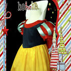 188 AU S Snow White Princess Christmas Party Girls Costume Dress SZ 3-4-5-6-7-8Y