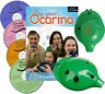 More images of 6-hole OCARINA (six colours) with COMPLETE Play your Ocarina Books 1-4 and 4 CDs
