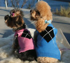 """XS Blue Gooby Dog Sweater Single Diamond 11"""" Chest Last One Clearance"""