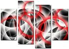 ABSTRACT ART CANVAS WALL ART QUALITY PRINTS CONTEMPORARY DIGITAL WALL ART RINGS