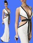 Sexy Ladies Evening Party Wedding Bride Prom Formal Gown Dress 6-12 21250