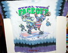 """GRATEFUL DEAD """"STEAL YOUR FACE OFF"""" HOCKEY BEARS 2-SIDED TIE DYE T-SHIRT NEW"""