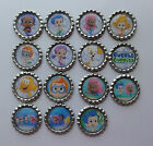 BUBBLE GUPPIES FLATTENED BOTTLE CAP U CHOOSE IMAGE LOT #2