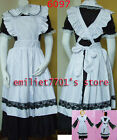 Sexy Lady Halloween Maid Costume Long Dress Multiple Wearing Perform Show Party