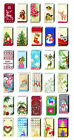 Paper Pocket Christmas  Handbag Tissues 20+ designs u choose stocking fillers