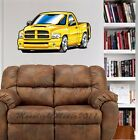 Dodge Rumble Bee Pickup Truck WALL GRAPHIC FAT DECAL #9156 MAN CAVE GARAGE EM