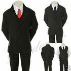 1x New Baby Toddler & Boy Formal Party Tuxedo Suit S M L XL 2T 3T 4T 5 6 7 8-20