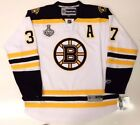 PATRICE BERGERON BOSTON BRUINS AWAY 2011 CUP JERSEY RBK