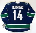 ALEX BURROWS VANCOUVER CANUCKS REEBOK PREMIER JERSEY