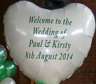 """LARGE 36"""" PERSONALISED FOIL BALLOON PROFESSIONAL FINISH"""