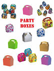 PARTY FAVOUR/FOOD BOXES x 10 ~ For Kids Birthdays, Weddings, Parties, etc