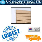 Pack of 8 Ash 4x4 Slatwall Panels + inserts - New