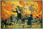 Apocalypse Cavalier Puccini Music Theater Italy Vintage Poster Repro FREE S/H